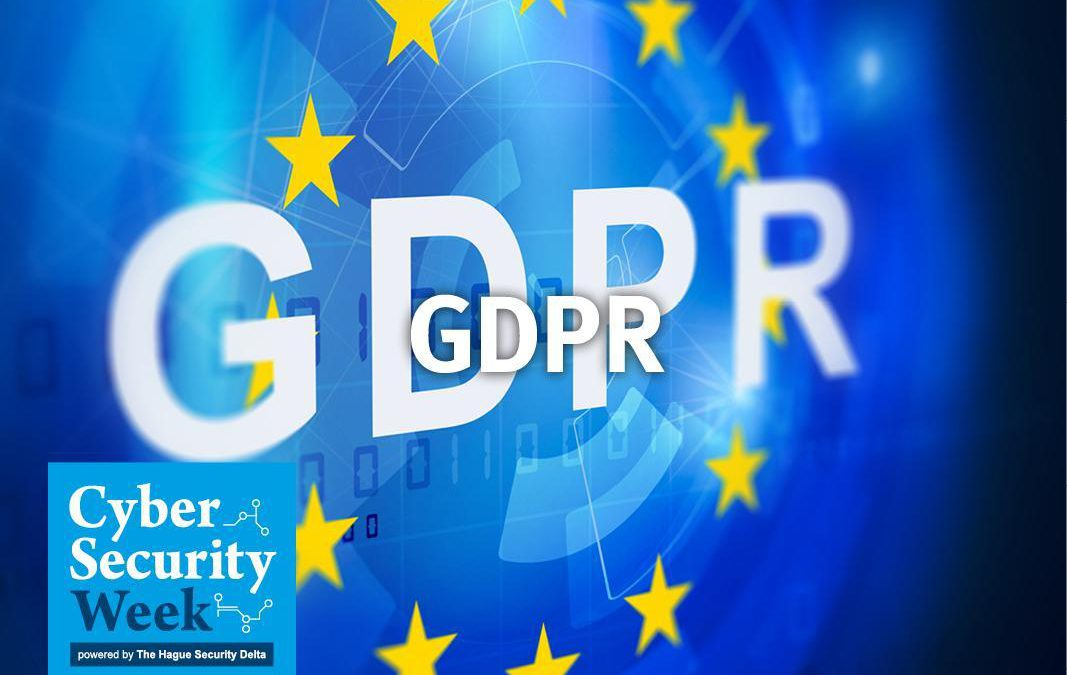 GDPR & Cybersecurity presentatie Cyber Security Week 2018